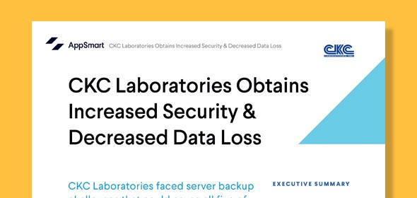 CKC Laboratories Obtains Increased Security & Decreased Data Loss